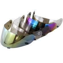 Máscara visera de protección completa para motocicleta, para HJC AC-12 CS-R1 IS-16 CS-R2