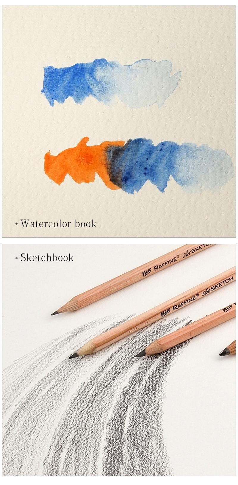 watercolor papel arte suprimentos