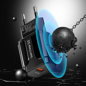 "Image 5 - אולף מהיר תשלום 3.0 USB מטען QC 3.0 מהיר טעינת האיחוד האירופי ארה""ב תקע מתאם קיר מטען לטלפון נייד עבור iPhone סמסונג Xiaomi"