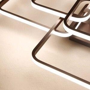 Image 5 - รีโมทคอนโทรลDimmingโมเดิร์นPlafon LEDโคมไฟเพดานอลูมิเนียมห้องรับประทานอาหารห้องนั่งเล่นห้องนอนไฟLamparas De Techo