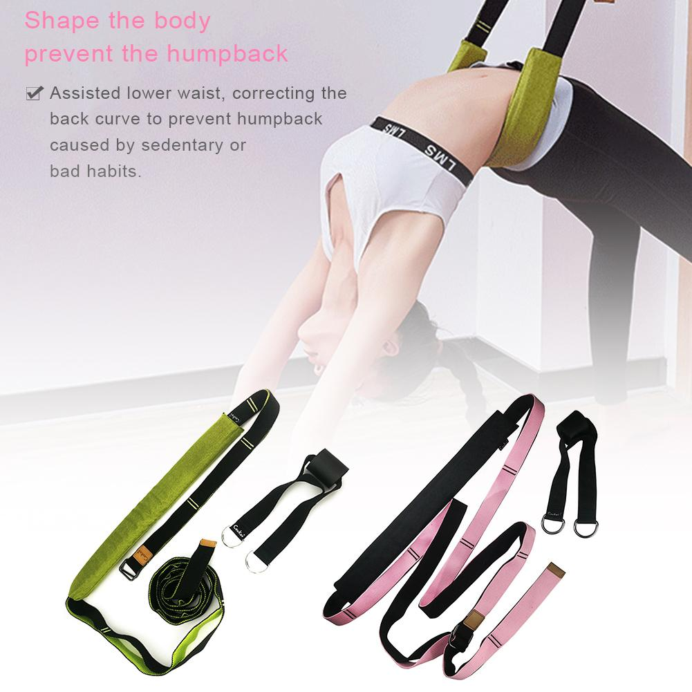 Flexible Trainer Door Flexibility Stretching Leg Stretcher Strap For Ballet Cheer Dance Gymnastics Trainer Yoga Flexibility ##