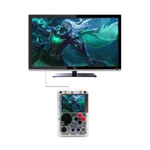 Mini gra wideo konsola 2.2-calowy ekran HD LCD Raspberry Pi 3B Retro przenośny odtwarzacz gier wbudowany w 10000 + gier