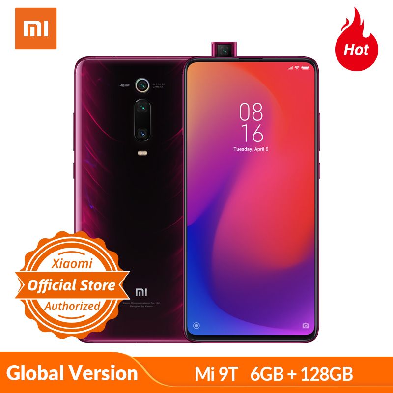 Xiaomi Redmi Mi 9T K20 6GB 128GB Global Version Smartphone Snapdragon 730 Moblie Phone 48MP Camera 4000mAh 6.39