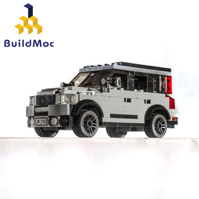 BuildMoc 5341 Volvo XC90 CarBuilding Blocks Compatible Technic Technic Tipper Car City  Construction Bricks Toys For Children