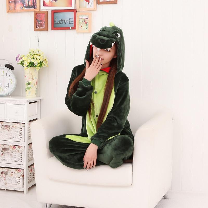 Kigurumi Onesie Adult Anime Men Women Unicorn Sleepwear Pajama Soft Fancy Dinosaur Unicornio Pijima Overall Nightwear Onepiece in Blanket Sleepers from Mother Kids