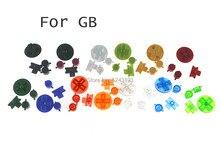 2Sets Multi-color Knoppen Voor Gameboy Klassieke Gb Toetsenborden Voor Gbo Dmg Diy Voor Gameboy Een B Knoppen D-Pad