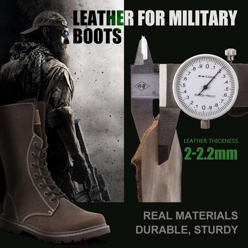军用战靴专用皮