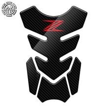 Z650 Aufkleber Motorrad Tank Pad Protector Aufkleber Aufkleber Fall für Kawasaki Z250 Z300 Z650 Z750 Z800 Z900 Z1000 3D Carbon aussehen