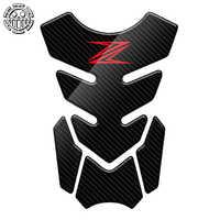 Z650 pegatina Protector de almohadilla de depósito para motocicleta pegatinas de calcomanías para Kawasaki Z250 Z300 Z650 Z750 Z800 Z900 Z1000 3D de carbono
