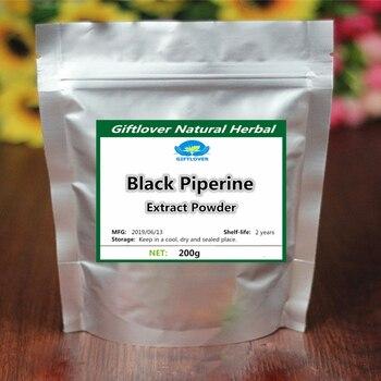 CZARNY PIEPRZ ekstrakt z Bioperine w proszku, lepiej wchłanianie pokarmu, Piperine w leczeniu problemy z trawieniem ochrony czerwonych krwinek