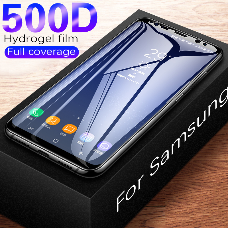 500D Full Curved Tempered Glass For <font><b>Samsung</b></font> Galaxy S9 S8 Plus Note 9 8 <font><b>Screen</b></font> <font><b>Protector</b></font> For <font><b>Samsung</b></font> <font><b>S7</b></font> Edge S9 Protective <font><b>Film</b></font> image
