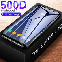 500D Full Curved Tempered Glass For Samsung Galaxy S9 S8 Plus Note 9 8 Screen Pr