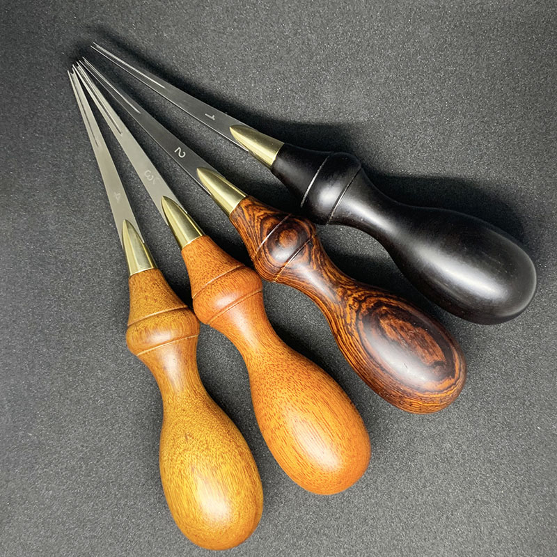 4 Size Leather Craft Keen Edge Beveler Cutting Skiving DIY Leather Skiver Tools