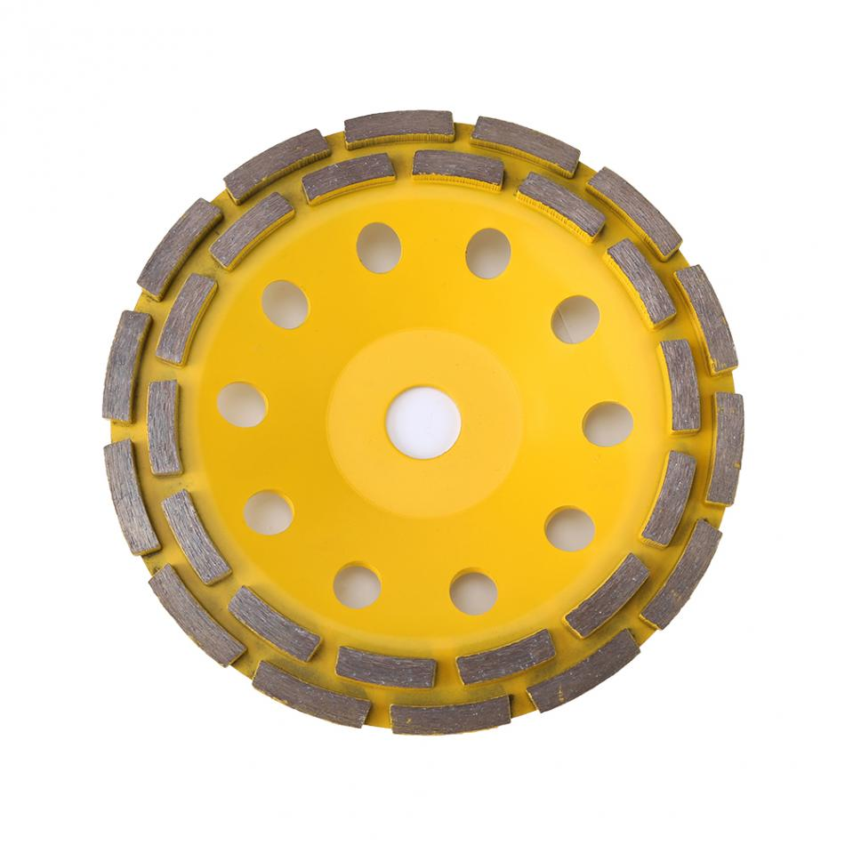 Grinding Disc 180mm Diamond Double Row Grinding Disc Brick Concrete Cut For Angle Grinder Abrasive Tools