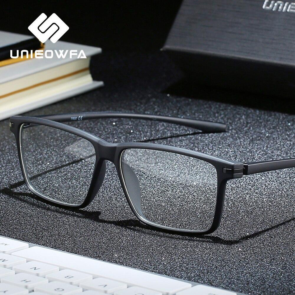 Мужские очки по рецепту, анти-синий светильник + фотохромные очки, мужские прогрессивные бифокальные очки для близорукости, дальнозоркости,...