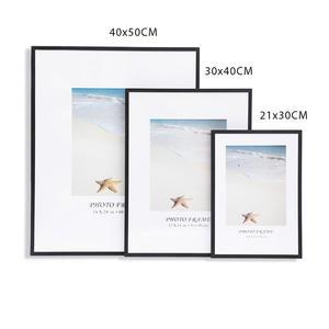 Pictures Frames Poster Plexiglass Wall-Art Canvas Prints Home-Decor 30X40CM A4 White