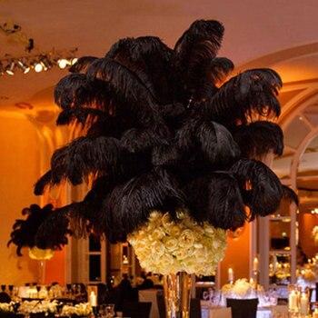Plume Ostrich Feathers Beautiful Craft Multi-Color 4 Color Centerpiece Decor Christmas Ornament Wedding Prop Festival Supplies 1