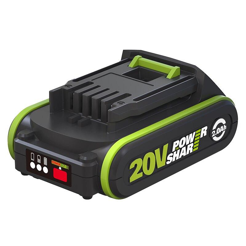 WORX 20V Power Show Battery Share 2.0 Ah /4.0 Ah /5.0 Ah /6.0 Ah Battery