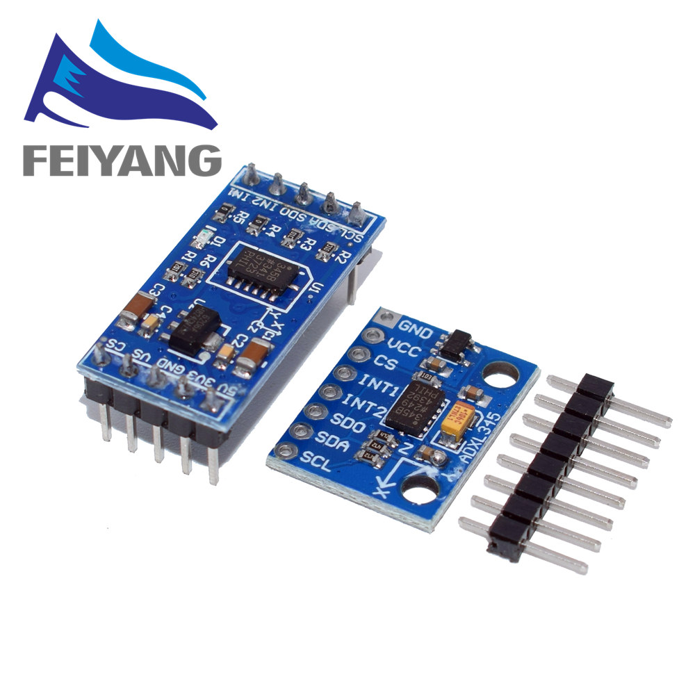 5 pieces Accelerometers 3-Axis Low g Digital-Output