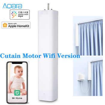 Neueste Aqara Smart Vorhang Motor Wifi Version Wifi 2,4 GHZ wireless verbindung Mi hause app smart Intelligente