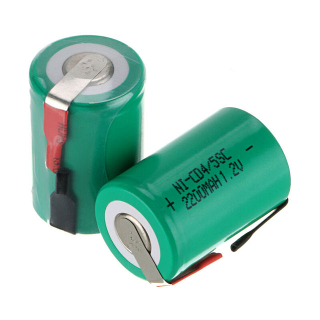 2-20pcs 4/5SC NI-CD Battery 1.2V 2200mah Sub C Rechargeable Battery for DIY Screwdriver Electric Drill Flashlight SUBC Battries