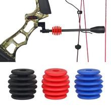 Composto arco corda parar suppressor suporte de montagem ferramenta estabilizador acessórios tiro com arco