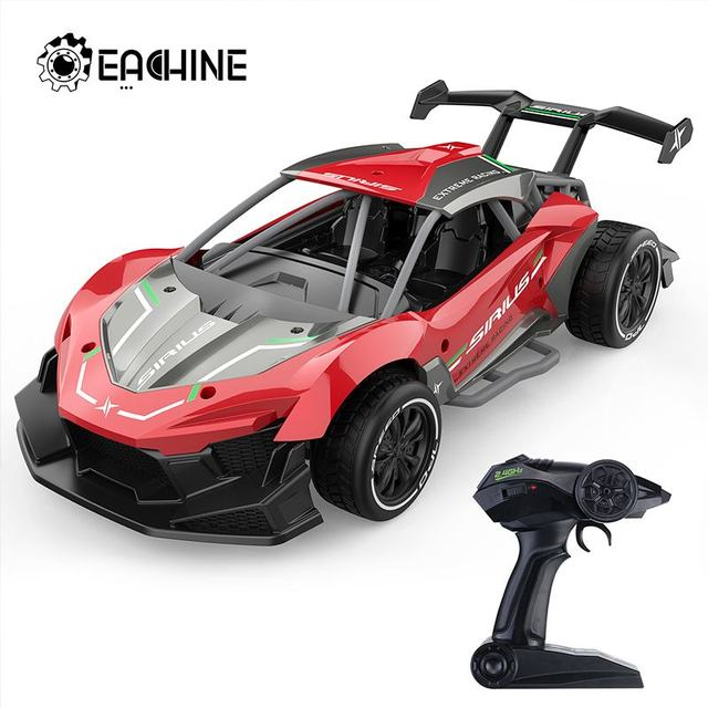 Eachine EC06 1:14 2.4GHZ 4CH High Frequency Alloy Remote Control High-speed Moter RC Racing Car 1