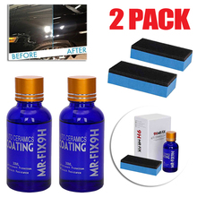 30ML 9H Auto Oxidizing Liquid Ceramic Glass car Coating Superhydrophobic Nano-polysiloxane Automotive protective coating set