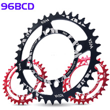 VXM Round 96BCD Chainring MTB bike 32T 34T 36T 38T crankset Tooth plate Parts for shimano M4000 part of the Haomeng tooth