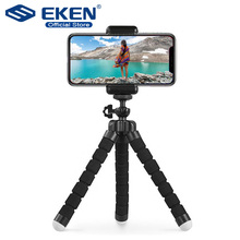 EKEN Camera Mini Tripod For Phone Stand Metal Ball Head Gorillapod For iPhone Tripod For Phone Mini Tripod For Mobile Camera