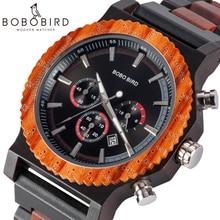 BOBO BIRD Luxury Brand Big Size Wristwatch Men Timepieces Ch