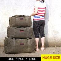 Männer Reisetaschen Große Kapazität Frauen Gepäck Reise Duffle Taschen Leinwand Große Reise Tote Handtasche Faltbare Reise Tasche Bolsa Feminina