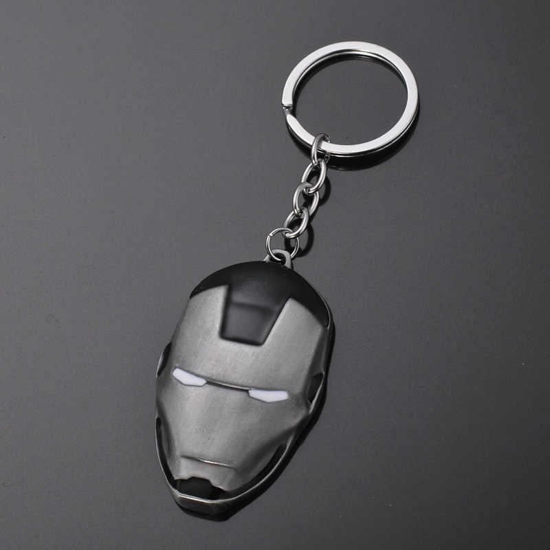 ใหม่ DC Comics Super hero แบทแมนพวงกุญแจผู้ชาย Trinket Super hero Marvel Spiderman รถ Key Chain Chaveiro Key ผู้ถือแหวนของขวัญ