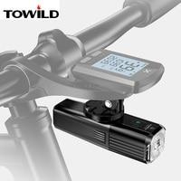 Bicicleta de luz con luz impermeable USB recargable LED MTB frente lámpara del faro de aluminio ultraligero luz linterna para bicicleta