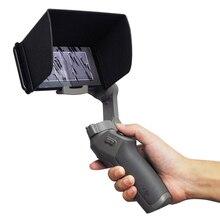 עבור DJI אוסמו נייד 3 כף יד Gimbal נייד טלפון הוד שמשיה לdji אוסמו נייד 3 Gimbal מייצב אביזרי