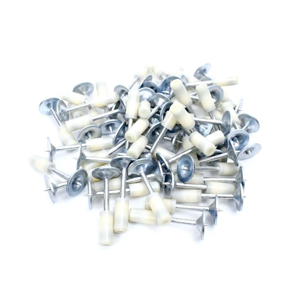 Tools : 100Pcs Mini NS-201 Steel Nails 20mm For Mini N2 Manual Steel Nail Gun