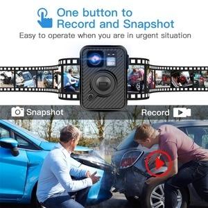 Image 5 - BOBLOV Wifi caméra de Police 64GB F1 corps Kamera 1440P caméras portées pour lapplication de la loi 10H enregistrement GPS Vision nocturne DVR enregistreur