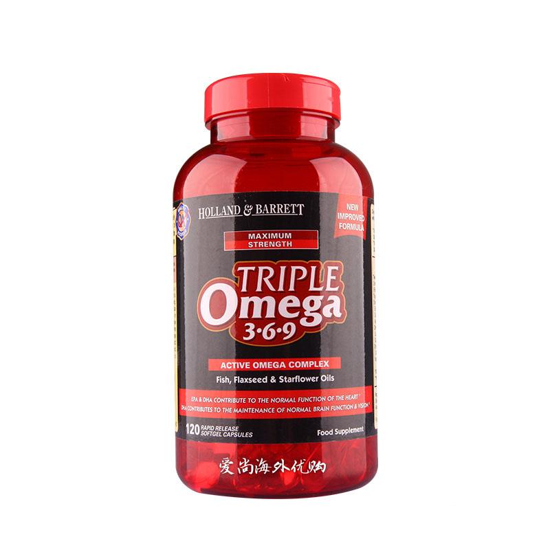 Triple Omega 369 Active Omega Complex Fish Flaxseed Starflower