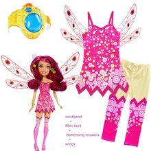 Halloween Costumes for Kids Girls Mia and Me Clothing Set Mia Cosplay Costume Children Birthday Party Carnival Clothes for Girl