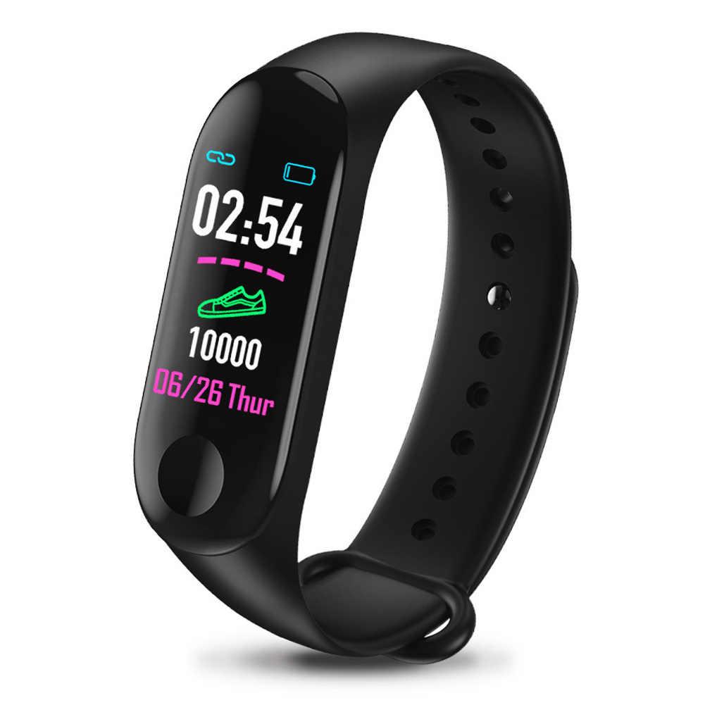 Pulseira de relógio inteligente pulseira de pressão arterial monitor de monitoramento de fitness dq-drop
