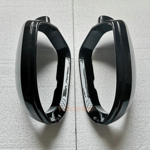 Image 5 - Zijspiegel Cap Covers Voor Audi A6 C7 C7.5 S6 4G 2012 2013 2014 2015 2016 2017 2018 Achter view Wing Case Black