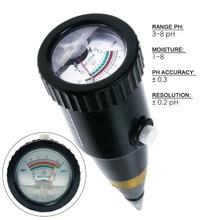 ZD-05 измеритель PH почвы и влажности, CE сертифицированный датчик температуры и влажности почвы, датчик электропроводимости почвы