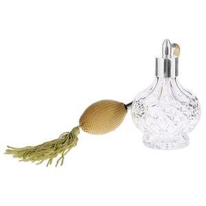 Винтажный парфюм, длинный парфюм, атомайзер, подарки, вапорайзер, стеклянные бутылки для женщин, 100 мл|Многоразовые бутылки|   | АлиЭкспресс