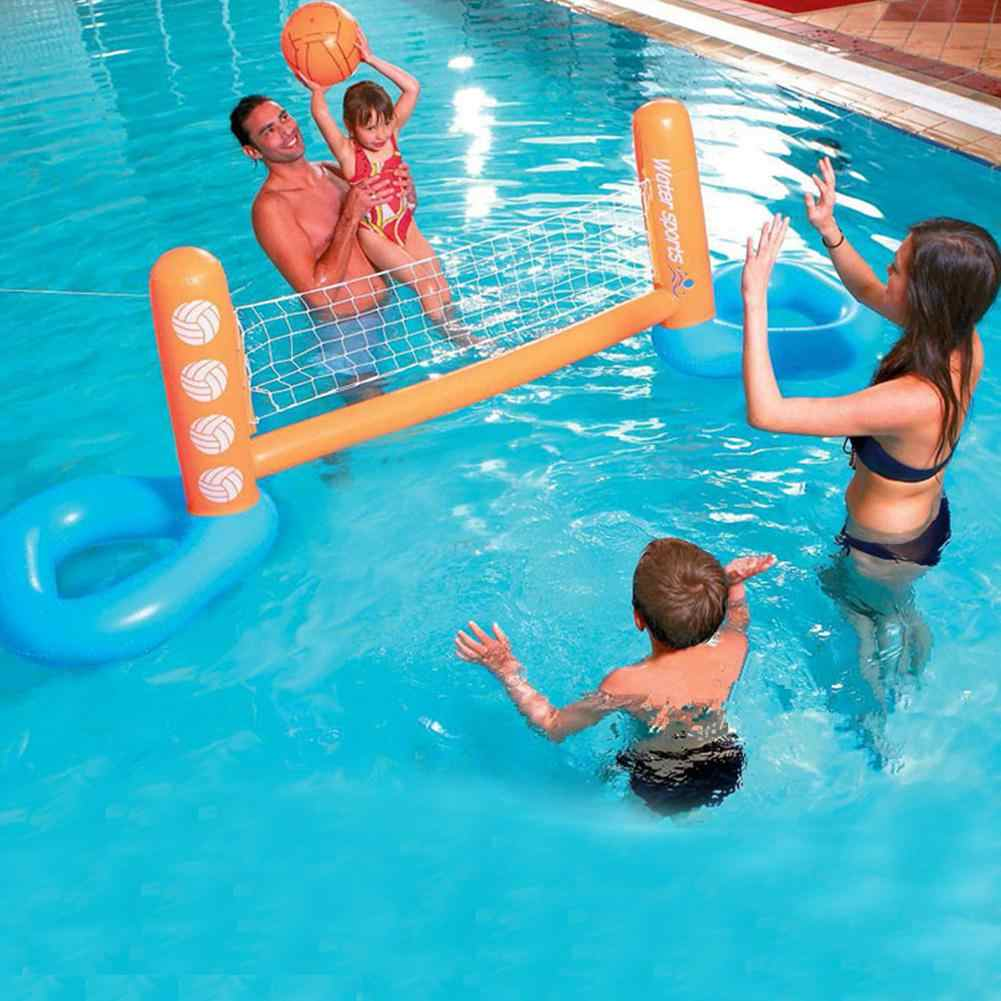 Summer Toys Inflatable Pool Party Float Volleyball Football Basketball Water Games Sports Interactive Inflatable Summer Toys New Aliexpress