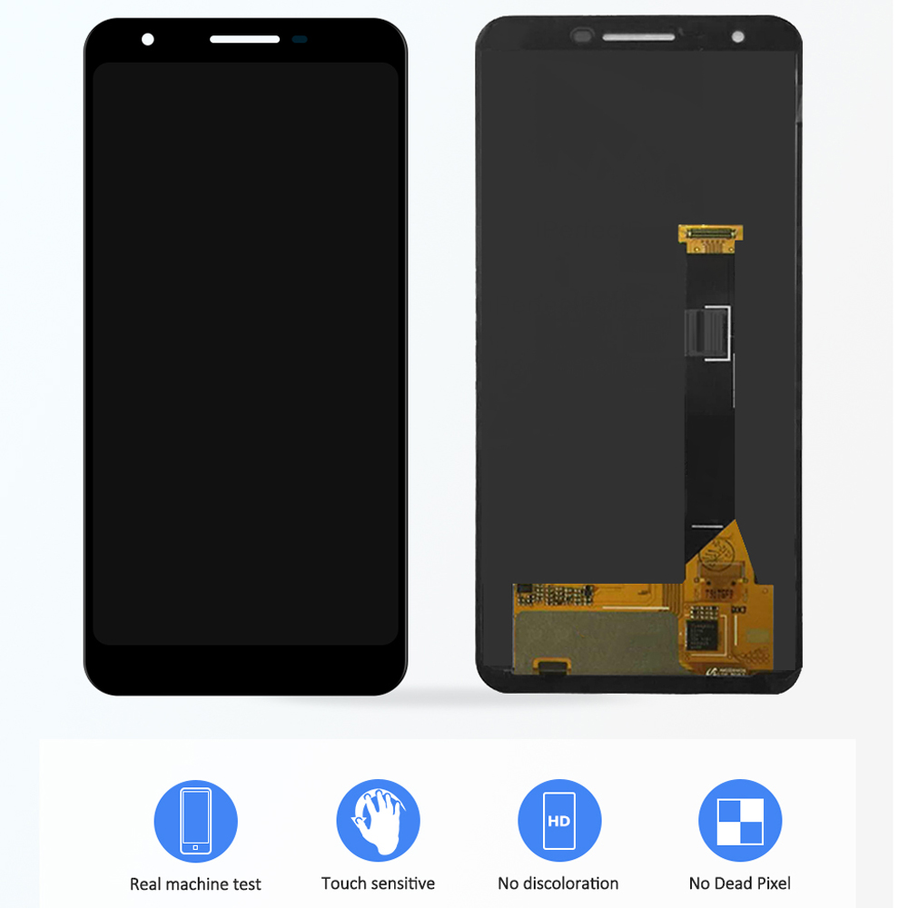 """5.6"""" LCD For Google Pixel 3A LCD Display Touch Screen Digitizer Assembly For Google Pixel 3A G020A G020E G020B Replacement"""