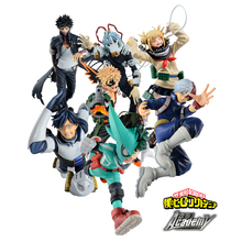 Tronzo Original Banpresto My Hero Academia All Might Midoriya Izuku Bakugou Katsuki Todoroki Shouto PVC Action Figure Model Toys