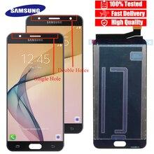 """100% Новый оригинальный 5,5 """"ЖК дисплей для samsung Galaxy J7 Prime G610 G610F On7 2016 G6100 дисплей сенсорный экран в сборе + Сервисный пакет"""