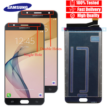 "100% Nieuwe Originele 5.5 ""LCD Voor Samsung Galaxy J7 Prime G610 G610F On7 2016 G6100 Touch Screen Montage + service pakket"
