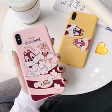 Cartoon Phone Back Case For Etui iPhone 6 6S 7 8 Plus X XR XS MAX 11 Pro Max Cover For iPhone XS Cute Cat Panda Soft TPU Coque(China)