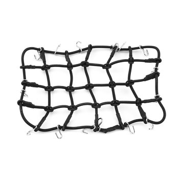 T-Power Roof Rack Luggage Net Carrier Mesh Cover with Hook for 1/10 Crawler RC Car Crawler CC01 AXIAL SCX10 RC4WD D90 HOT! image